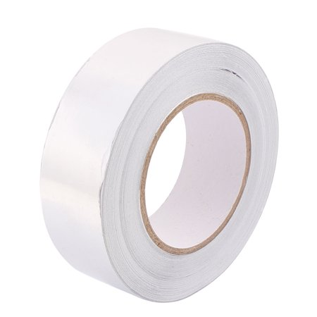 Unique Bargains 40mm Width 50m Long Aluminum Foil Tape Shield Resist Duct Repair