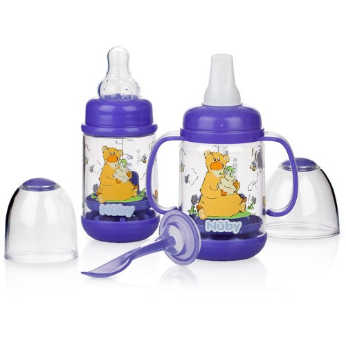 Nuby Infant Feeding Set, Bear