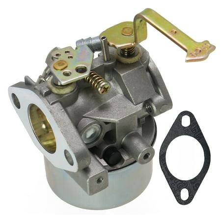 Carburetor for Tecumseh 640152A 640023 640051 640140 640152 HM80 HM90 HM100 8-10 HP Engines Snowblower Mower 5000w