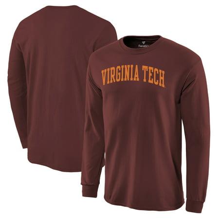 Virginia Tech Hokies Basic Arch Long Sleeve T-Shirt - Maroon](Virginia Tech Halloween 2017)