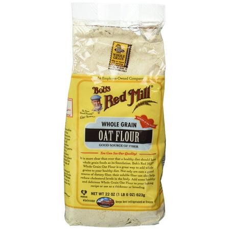 Bob's Red Mill Whole Grain Oat Flour - 22 oz ()