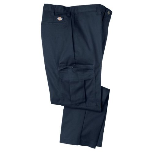 Dickies Men's Industrial Relaxed-Fit Cargo Pant, Navy - 2...