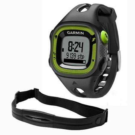 b09f29b51 Garmin Forerunner 15, Small - Black and Green Bund GPS Running Watch w/HRM