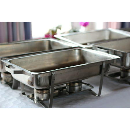 LAMINATED POSTER Pans Food Warmers Pans Catering Party Service Poster Print 24 x 36 (Pan Warmers)