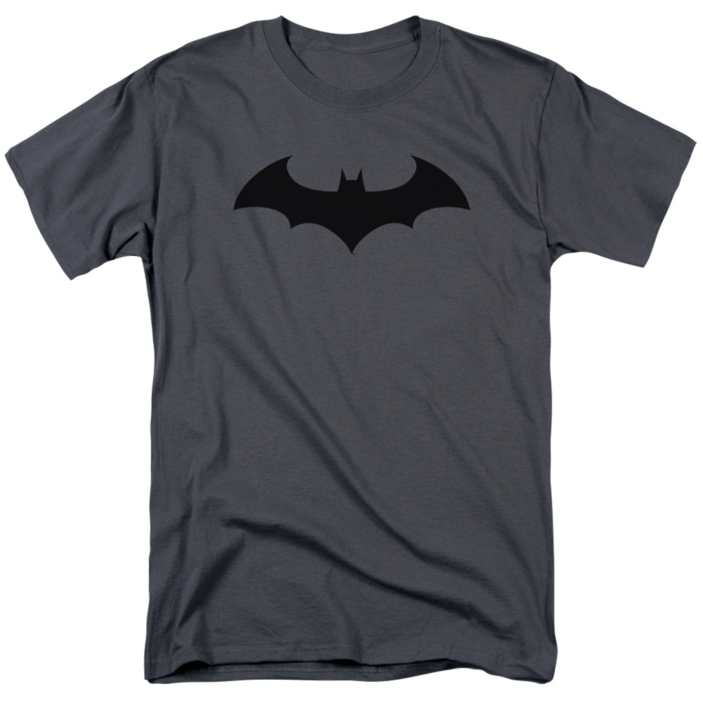 Batman Men's Hush Logo T-shirt Gray by Trevco