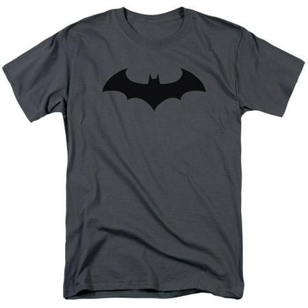 Batman Men's  Hush Logo T-shirt Gray