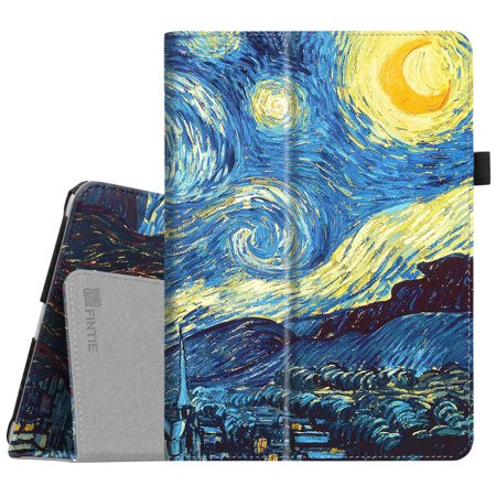 Fintie iPad 9.7 Inch 2018 / 2017 Case, Folio Cover for iPad 6th Gen / 5th Gen /iPad Air 2 / iPad Air, Starry Night - Halloween Night Club London 2017