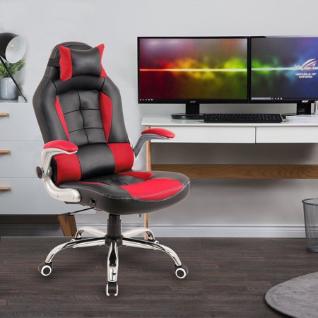 Merax Ergonomic High Back Racing Style Reclining Gaming Office Chair, Multiple (Best Gaming Chair Brands)