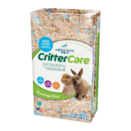 Healthy Pet CritterCare Shavings Plus, 33.8L