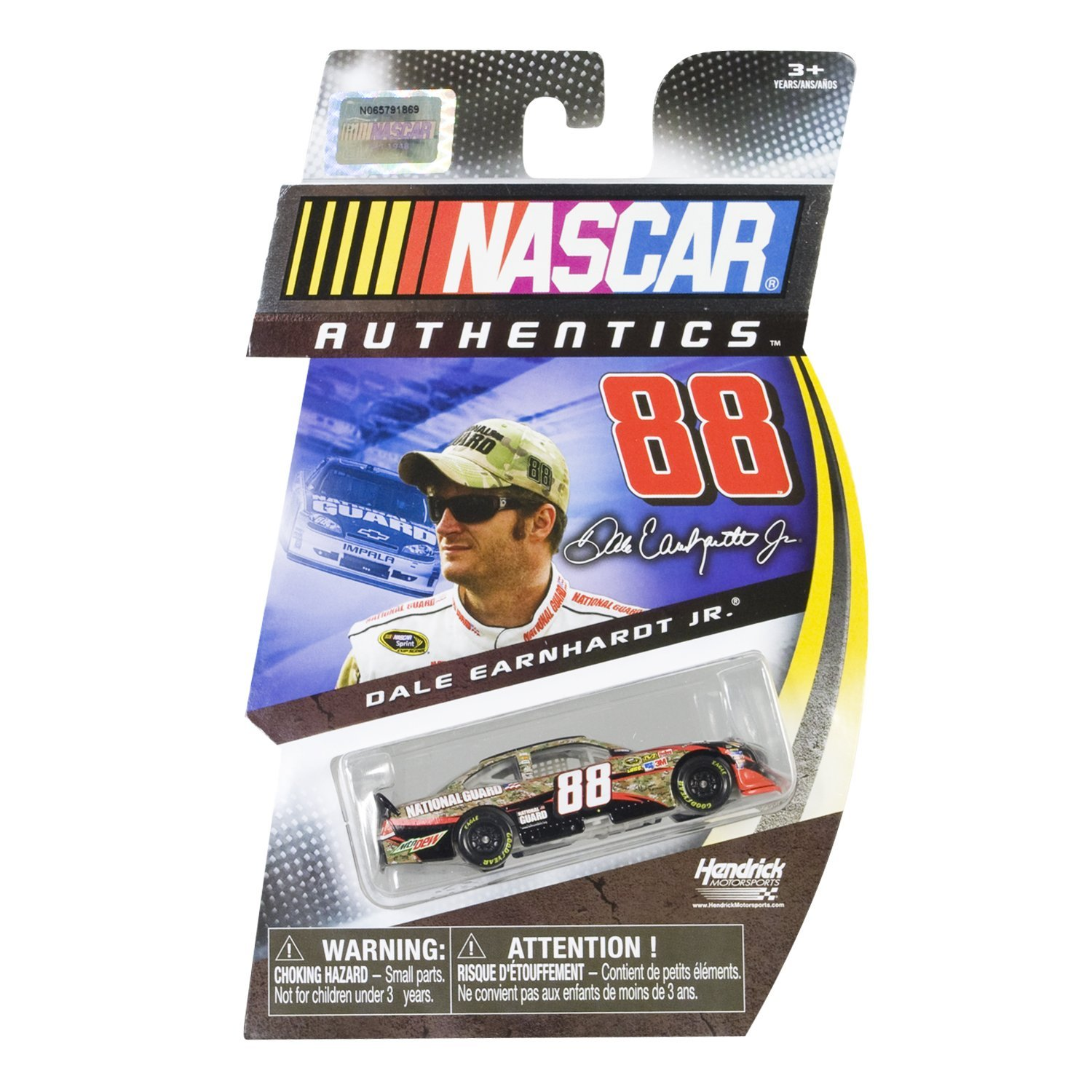 Authentics Dale Earnhardt Jr. Diecast Collector Car #88 National Guard 1:64 Scale, Full... by