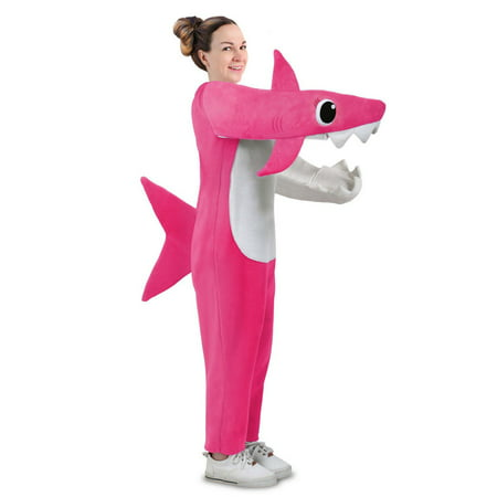 Cute Mommy And Baby Halloween Costumes (Adult Chompin' Mommy Shark Costume with Sound)