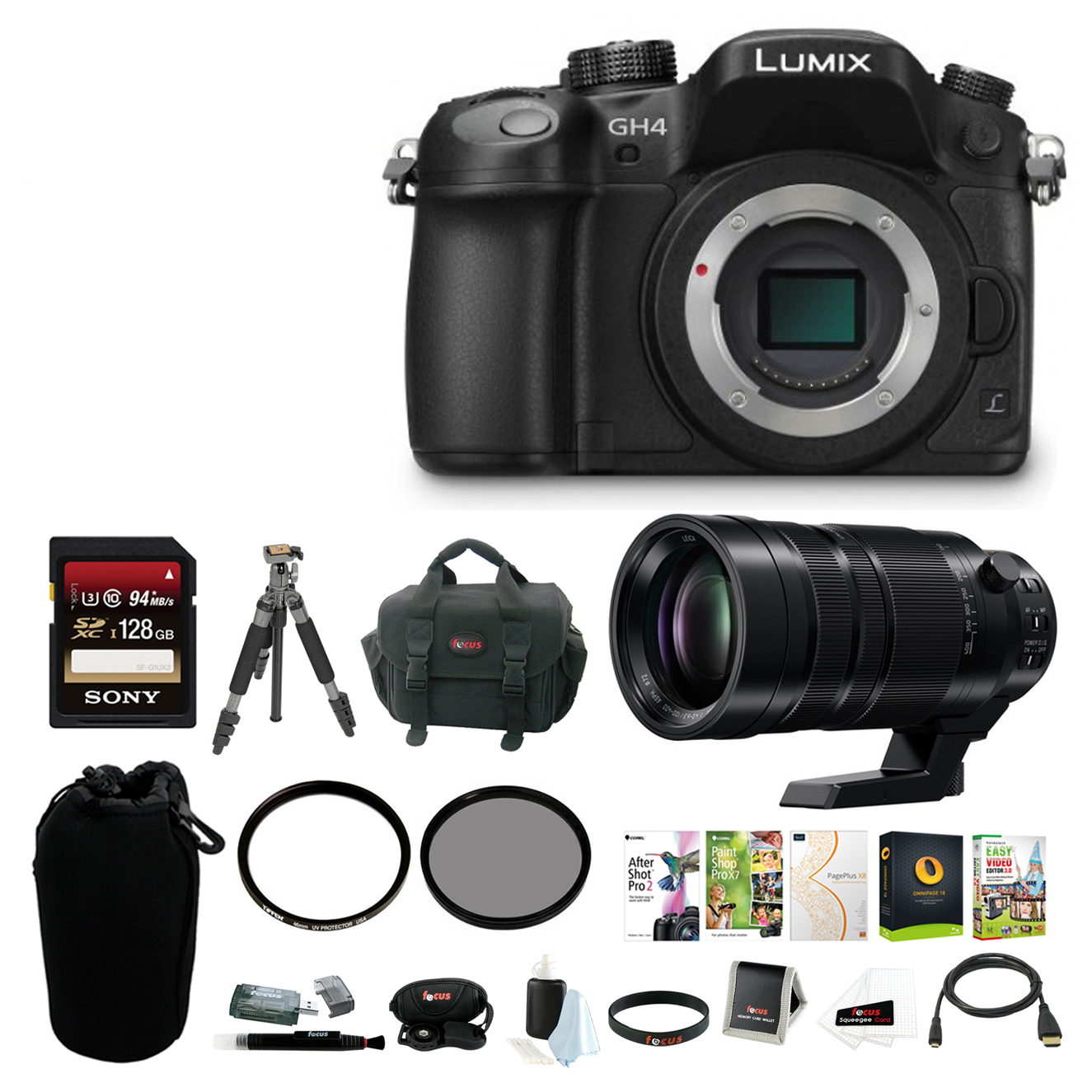 Panasonic LUMIX 16.05MP Mirrorless Camera (Body Only) wit...