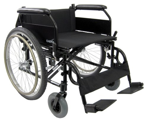 Karman Lightweight Extra Wide Wheelchair In 22 Inch Seat With Flip