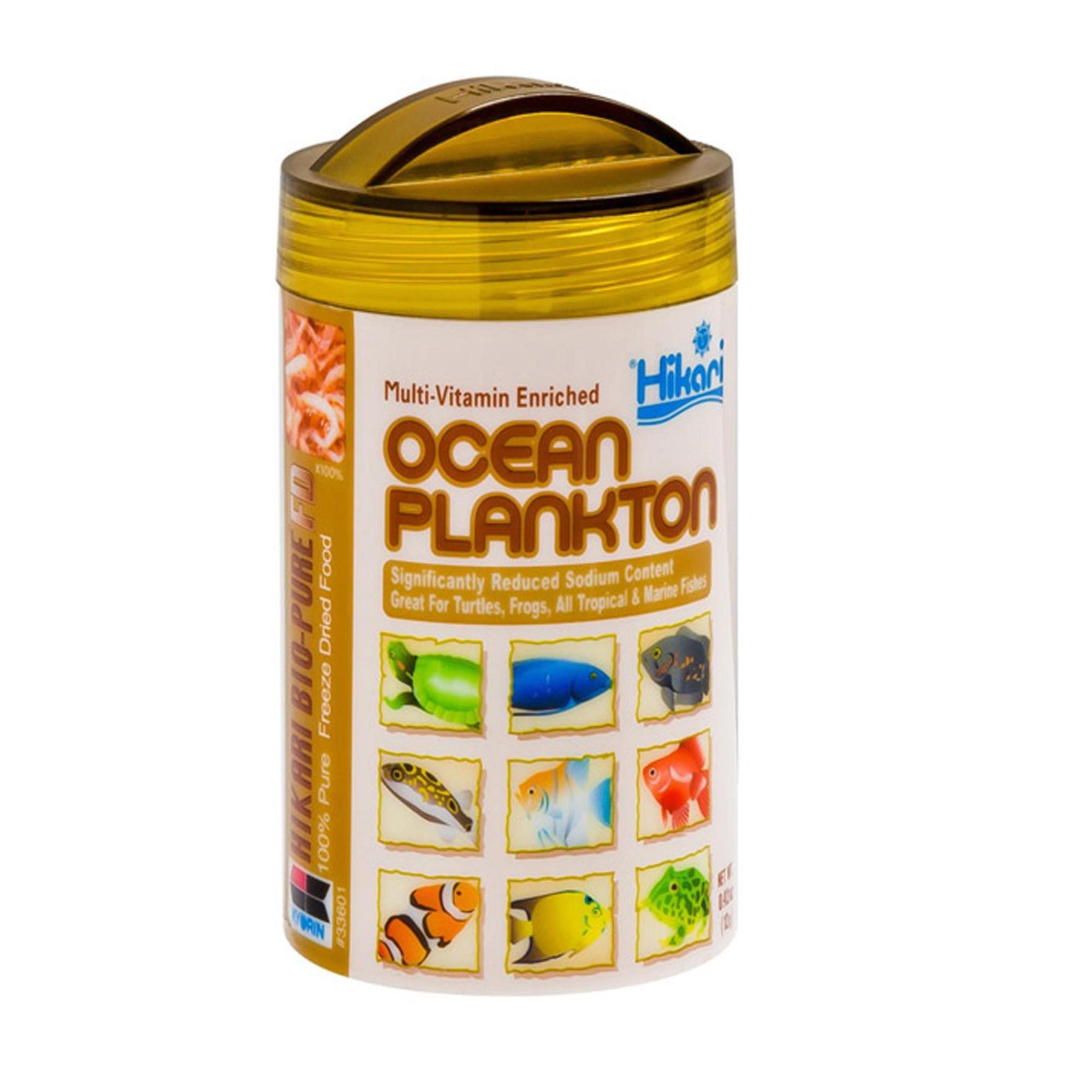 Hikari Bio-Pure Freeze Dried Ocean Plankton Fish Food, 0.42 Oz