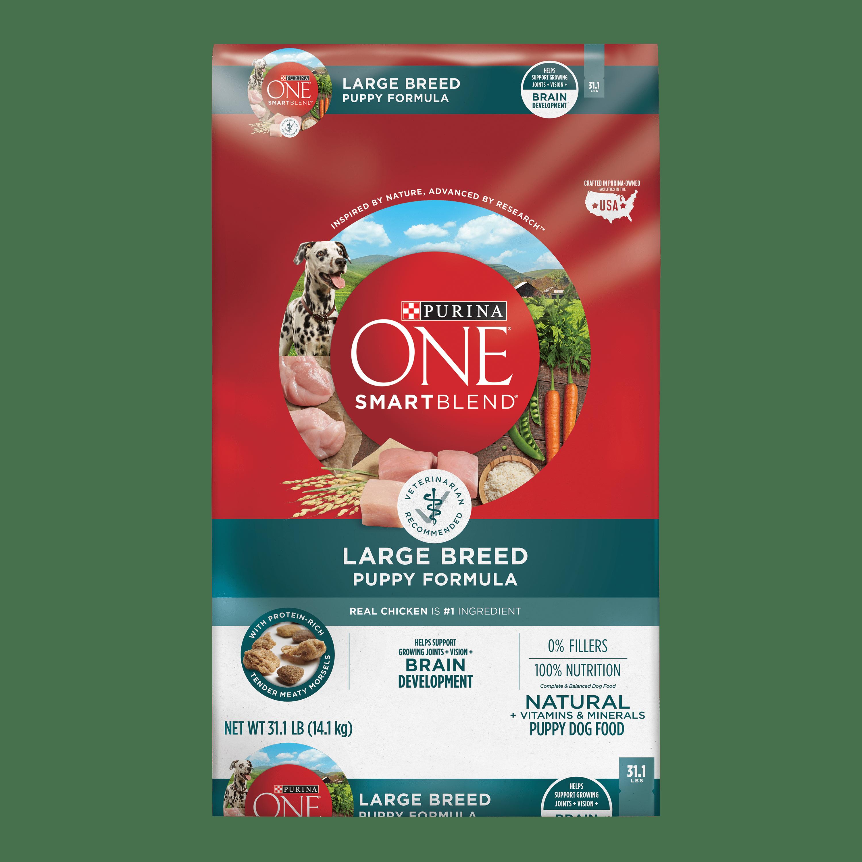 Purina ONE SmartBlend Large Breed Formula Adult Dry Dog Food - 31.1 lb. Bag