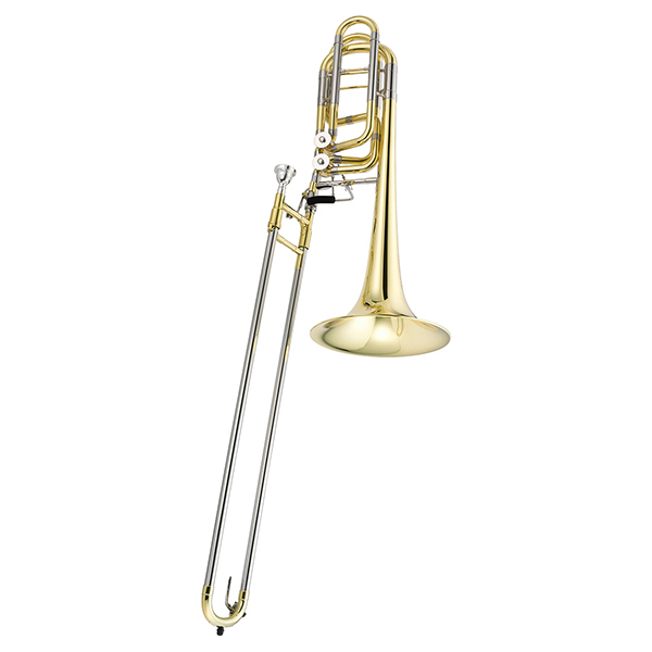 Jupiter Bass Trombone Double Independent Rotor, JTB1180 by Jupiter