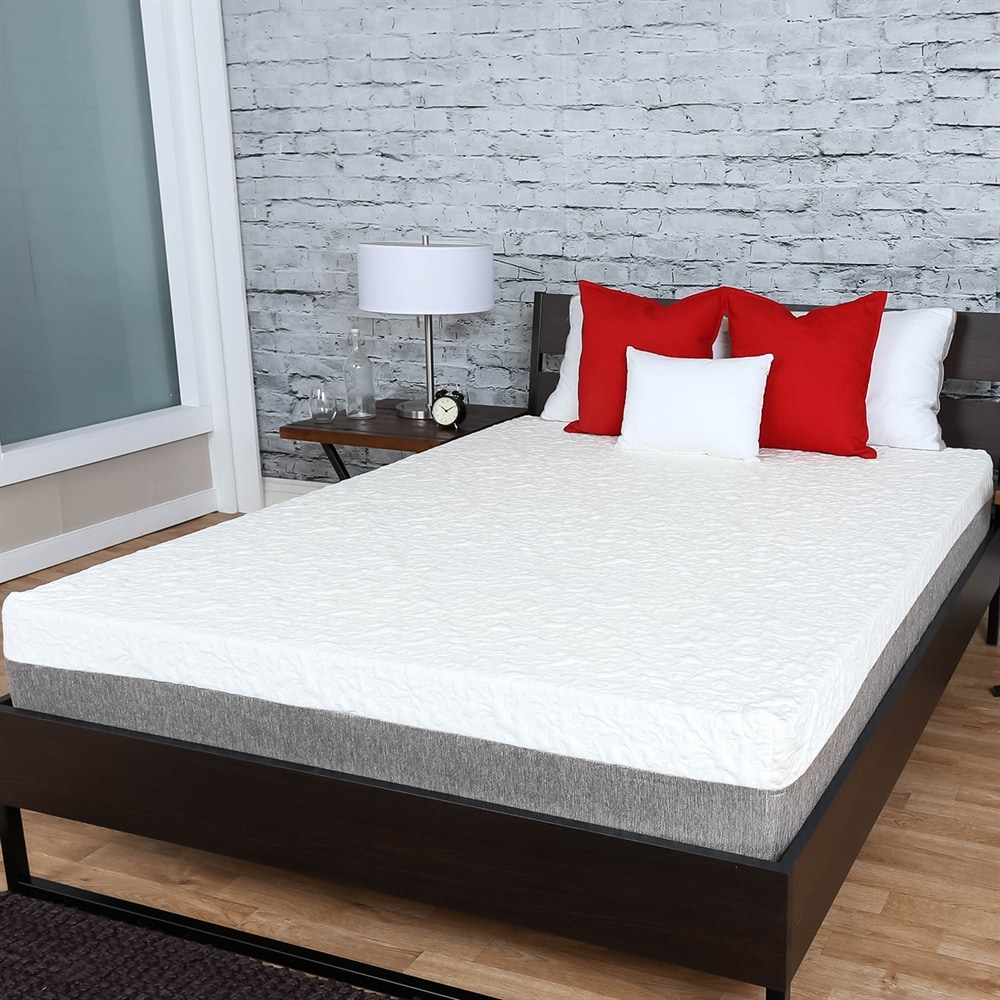 Premier Sleep Products US12 Embrace 12-in Plush Memory Foam Mattress