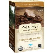 Numi Organic Tea, Chocolate Puerh, Tea Bags, 16 Ct