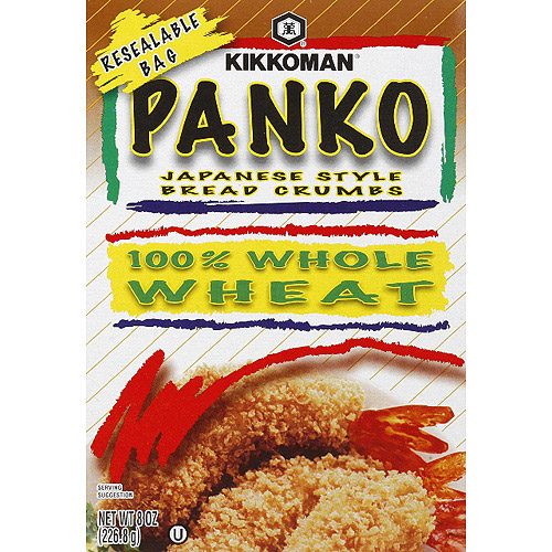 Kikkoman Panko Japanese Style Bread Crumbs, 8 oz, (Pack of 12