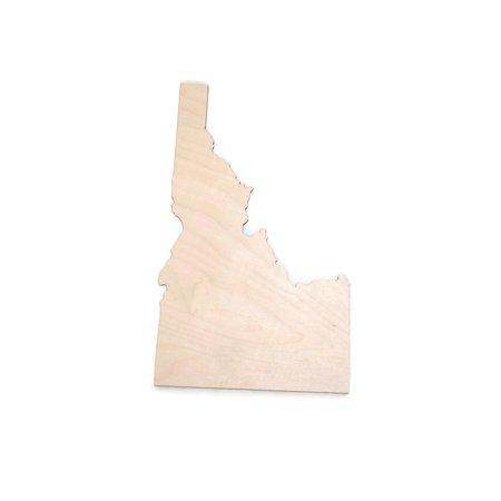 Gocutouts Idaho State 12 Cutout Unfinished Woodwooden Baltic Birch 14 Cutout Diy Home Decor Usa Made
