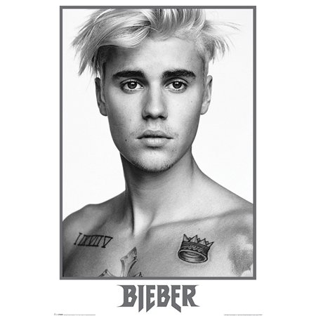 Justin Bieber - Music / Personality Poster / Print (Portrait / Topless) (Size: 24