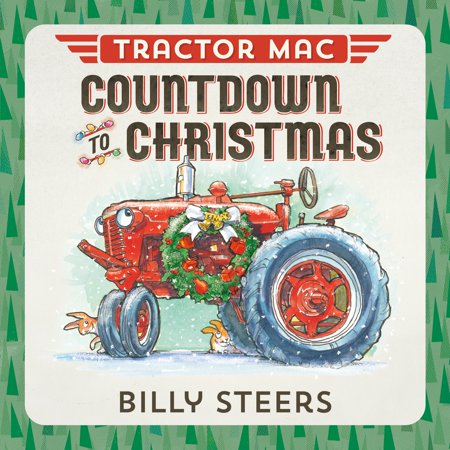 Tractor MAC Countdown to Christmas (Board - Hanukkah Countdown
