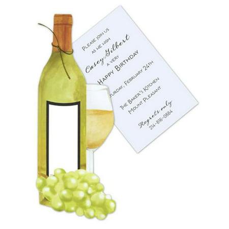 Stevie Streck Designs AW951 BOX vin blanc avec des raisins avec de l'or Cordon Tag sans Glitter - image 1 de 1