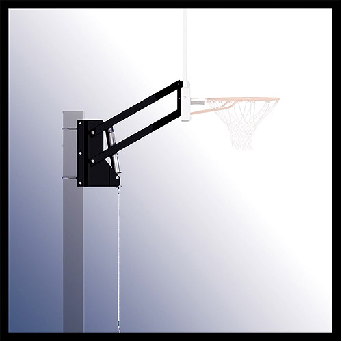 Spalding Basketball System U-Turn Lift