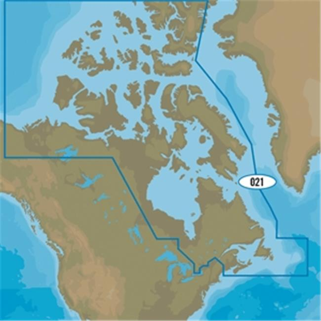 C-Map NA-Y021 Canada North & East