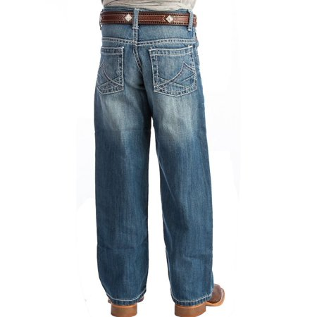 Jean Marcel Limited Edition - Wrangler Apparel Boys  20X Limited Edition No 33 Relaxed Fit Jeans