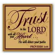 "Candle-Hyssop-Trust In The Lord (3"")"