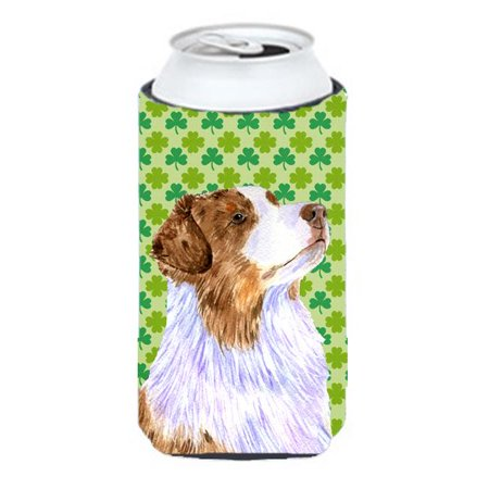 Australian Shepherd St. Patricks Day Shamrock Tall Boy bottle sleeve Hugger - image 1 of 1