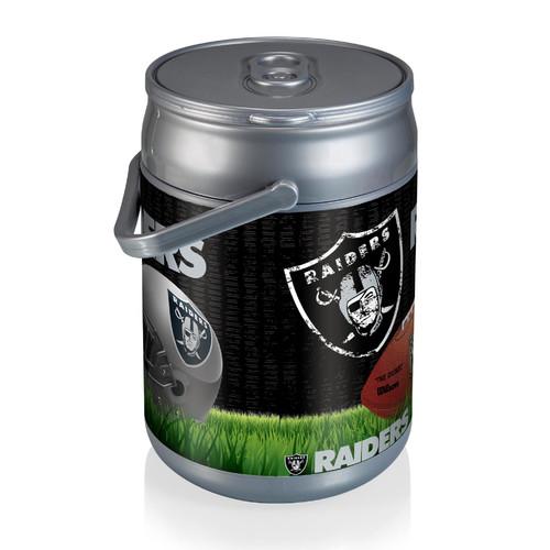 Picnic Time Can Cooler, Oakland Raiders Digital Print