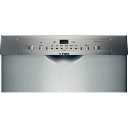 Bosch Ascenta SHE3AR75UC - Dishwasher - built-in - Niche - width: 24 in - depth: 24 in - height: 33.9 in - stainless steel
