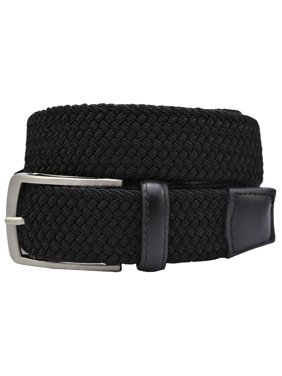 Product Image Greg Norman Mens Weave Stretch Belts (Black cb76ecdc4bb