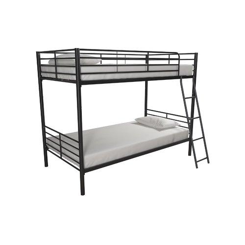 Harriet Bee Ecker Convertible Twin over Twin Bunk Bed
