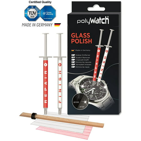Glass Polish All Kinds Of Glass Scratch Remover/Sapphire Scratch Remover / Repair Cell Phone Screens, Removes fine, light and medium deep.., By (Removing Light Scratches From Glass)