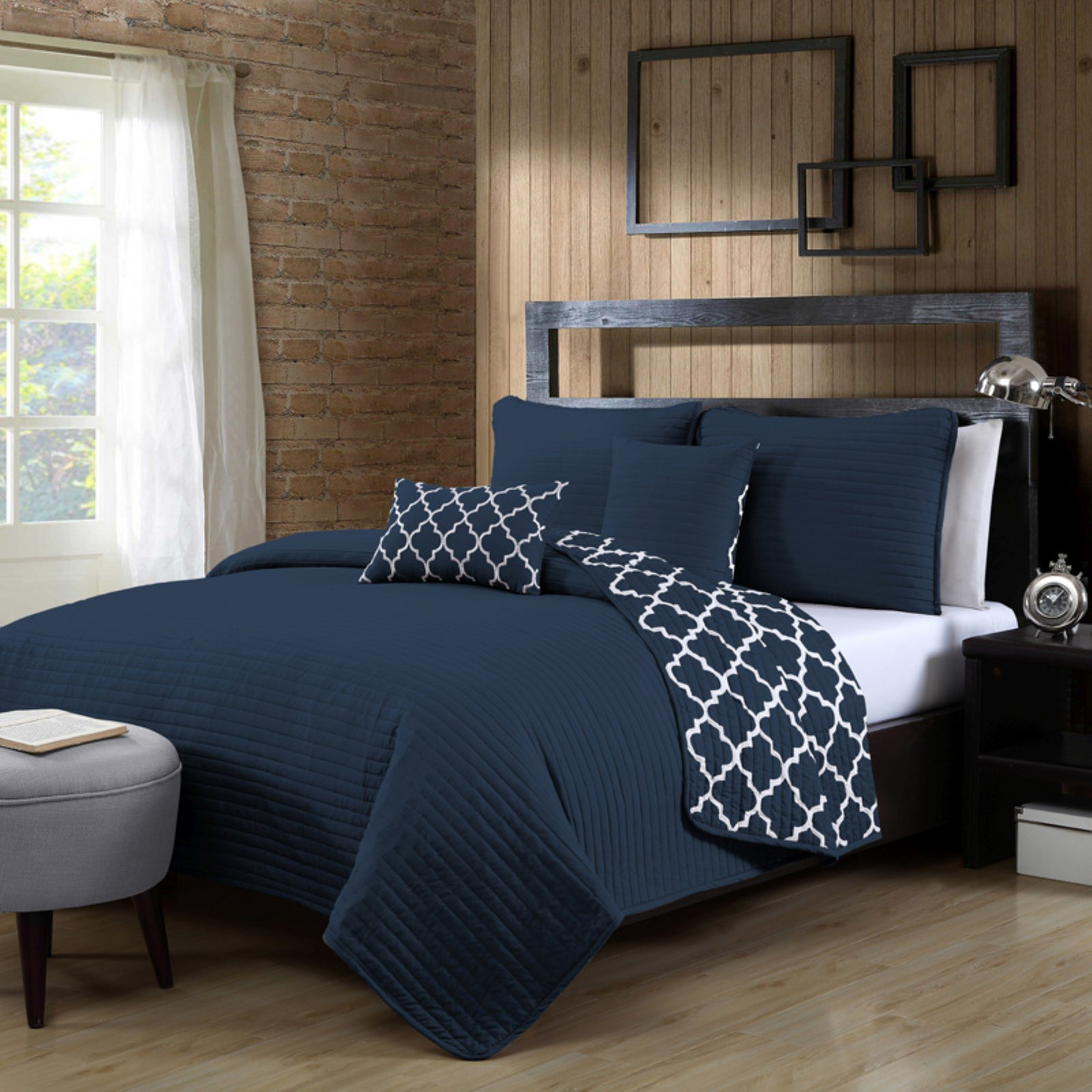 Griffin 5-Piece Quilt Set by Avondale Manor