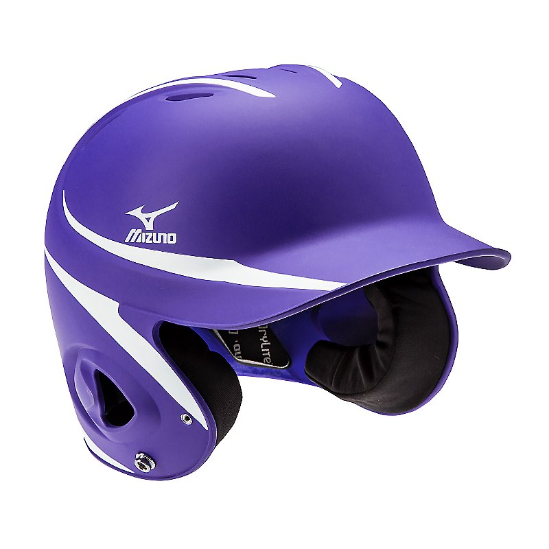 Mizuno Mbh252 Mvp 2-Tone L/Xl Batter`S Helmet ( 380352 )