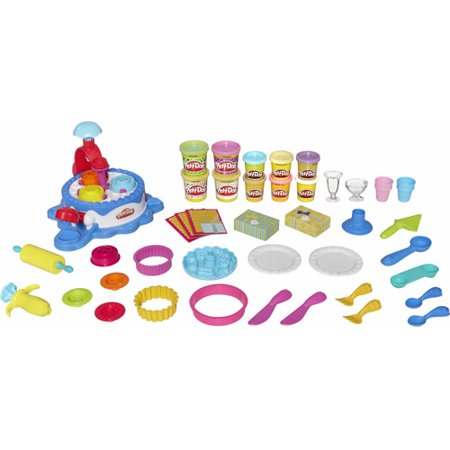 Cake Ice Cream Play Doh : Play-Doh Cake & Ice Cream Confections Set - Walmart.com