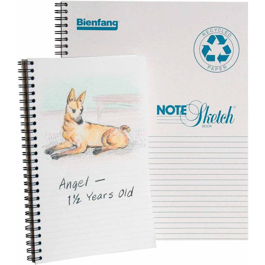 "Bienfang Note Sketch Pad, 8.5"" x 11"", 64 Sheets"