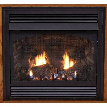 "Premium 32"" Vent-Free Millivolt Control LP Fireplace"