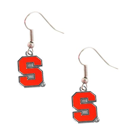 Syracuse Orangemen Dangle Logo Earring Set Charm Gift