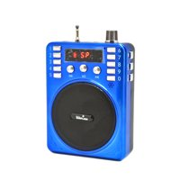Portable Rechargeable Loud Voice Booster Amplifier Mini AMP Speaker and PA System WITH HEADSET MIC INCLUDED { Great To Listen Music & To Use it As Voice Amplifier Very Loud}