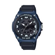 Casio Men's Sport Analog Watch, Black/Blue MWC100H-2AV