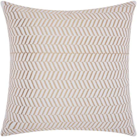 Nourison Luminecence Alternative Chevron Decorative Throw Pillow, 20