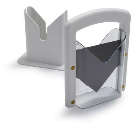 hoan bagel guillotine slicer, white