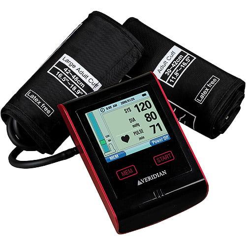 Veridian 01-697 Advanced Display Blood Pressure Arm Monitor