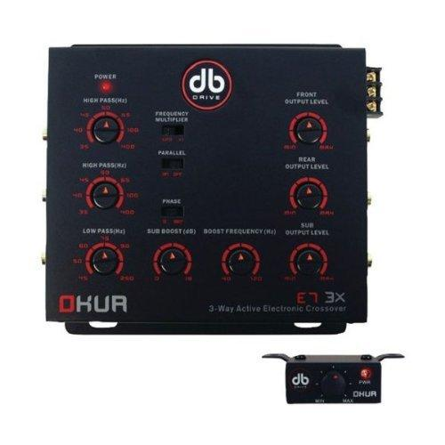 Db Drive E73X E7 3x Okur[r] Series 3-way Electronic Crossover