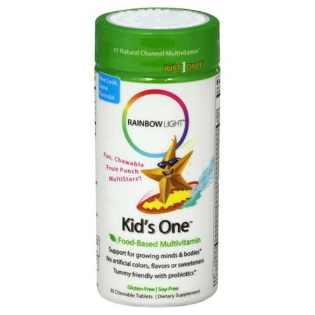 - Rainbow Light Kids One™ Chewable Multivitamin & Mineral 30 Tab